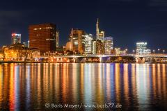 Großstadtlichter - Frankfurt bei Nacht