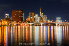 Großstadtlichter in Frankfurt am Main