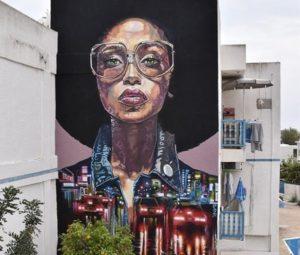 Streetart Projekte diverser Künstler aus aller Welt