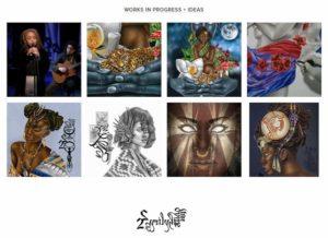 Die Afro-karibisch geprägte Kunst von Josh Sessoms