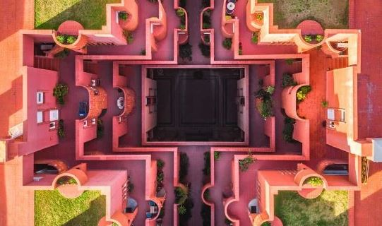 Barcelona von oben von Marton Mogyorosy