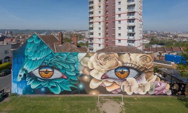Neue Streetart Projekte aus aller Welt