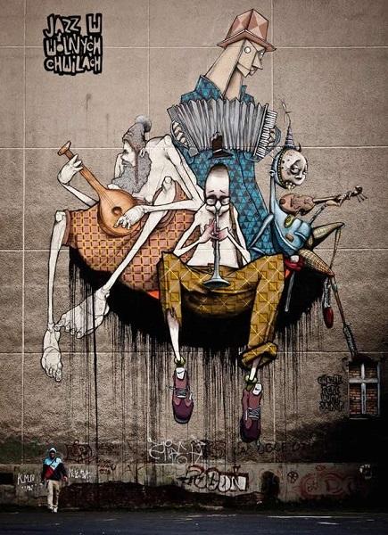 30 Streetart-Wände aus aller Welt