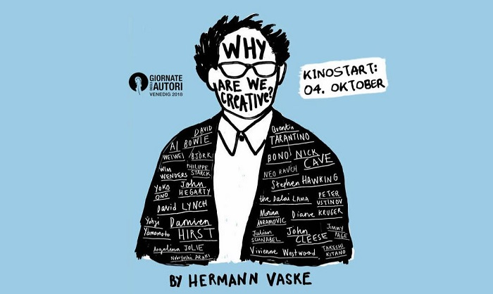 """Why are we creative?"" von Hermann Vaske"