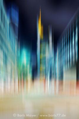 Abstrakte Lichtkomposition
