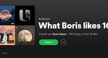 "Coverbild der Spotify Playlist ""What Boris Likes #16"""